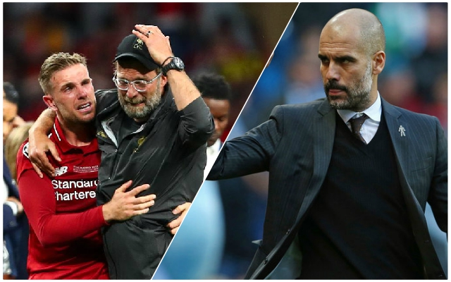 Brilliant Jurgen Klopp and Pep Guardiola story shows ultimate respect between the pair