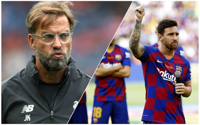 Jurgen Klopp explains how Barcelona have set the model for the Reds to follow