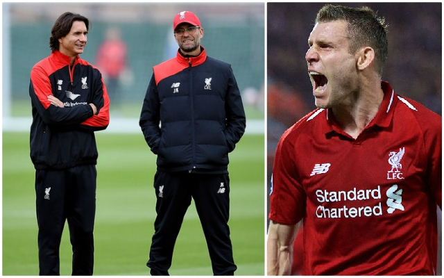 James Milner sends message to former Reds' man who the whole squad miss