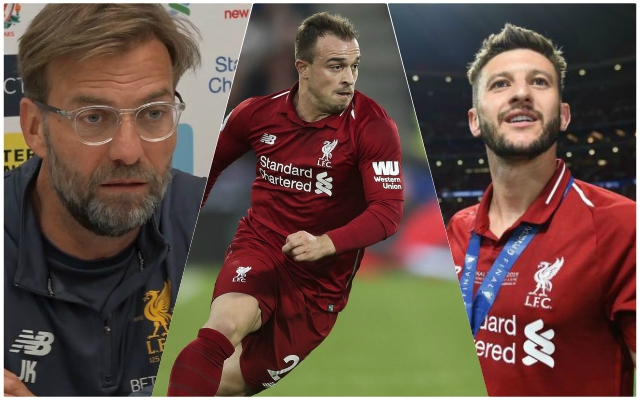 'They know what they have to do': Jurgen Klopp sends message to Lallana, Lovren and Shaqiri