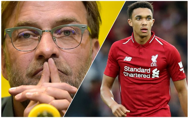 Trent Alexander-Arnold names the Reds youngster who most reminds him of himself