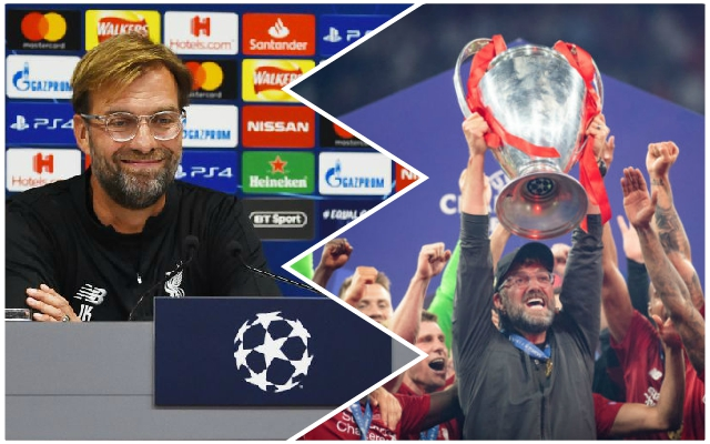 """It is just crazy!"": Jurgen Klopp delivers his verdict on the Champions League campaign to come"