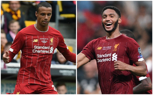 Van Dijk hints Matip could miss Leicester City game & praises Gomez