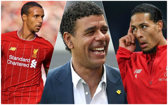 Sky Sports pundit jokingly claims Virgil van Dijk was annoyed with Joel Matip for scoring against Arsenal