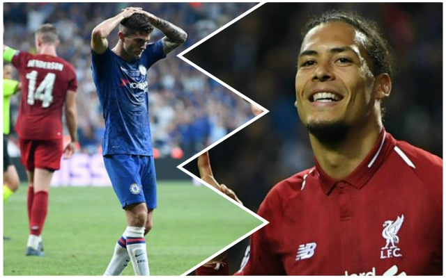 'Lucky': Virgil van Dijk makes UEFA Super Cup admission and hints at defensive improvement being required