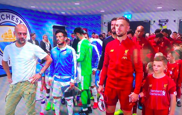 (Video) Hendo gets off bench and rips into annoying Guardiola