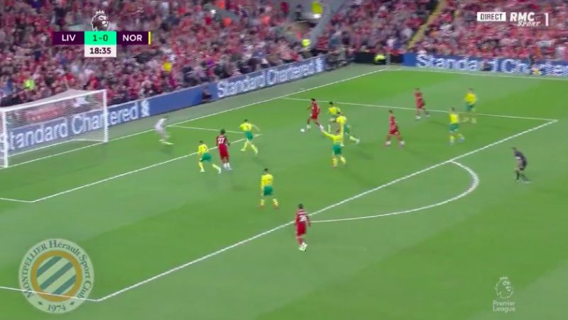 (Video) Mo Salah finishes beautifully after Firmino assist