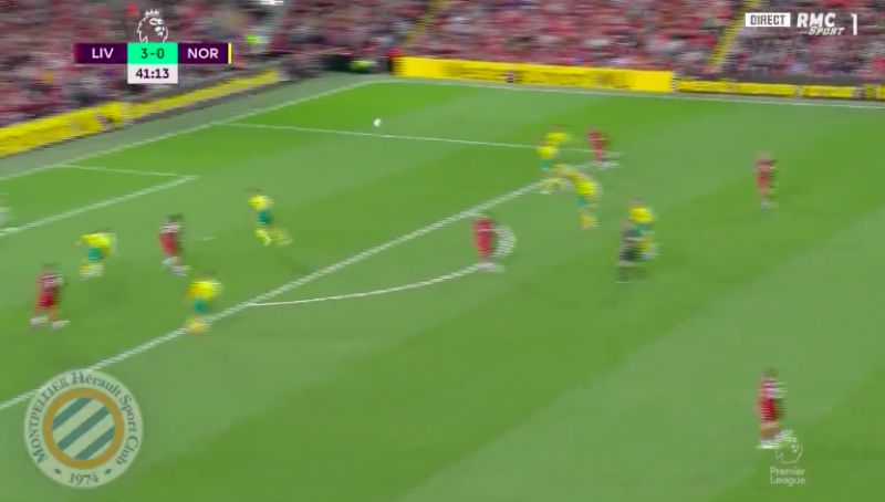 (Video) Origi's clinical header sees rampant Liverpool 4-0 up v Norwich
