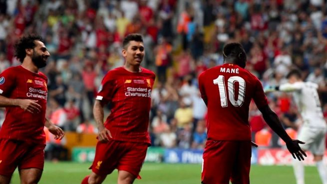 Firmino and Mane have lighthearted Instagram spat over celebration ownership