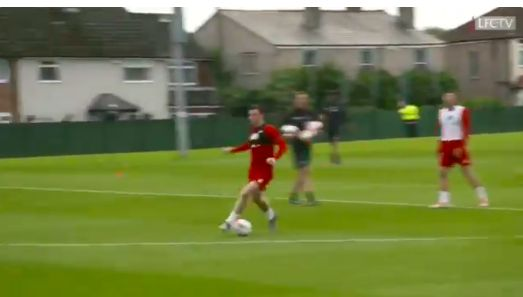 (Video) VVD & Robbo link up to score glorious training goal