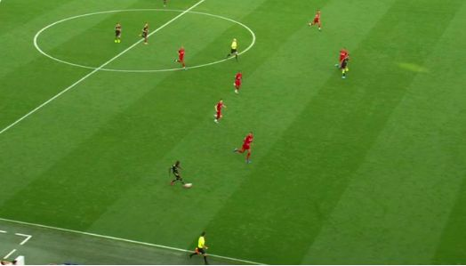 Blatant flaw in new offside rule on show in Liverpool v Arsenal game