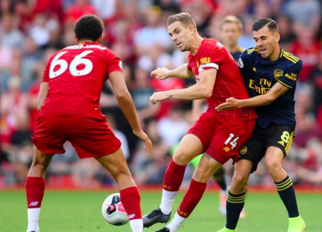 (Video) The other Jordan Henderson pass nobody is talking about during Liverpool 3-1 Arsenal