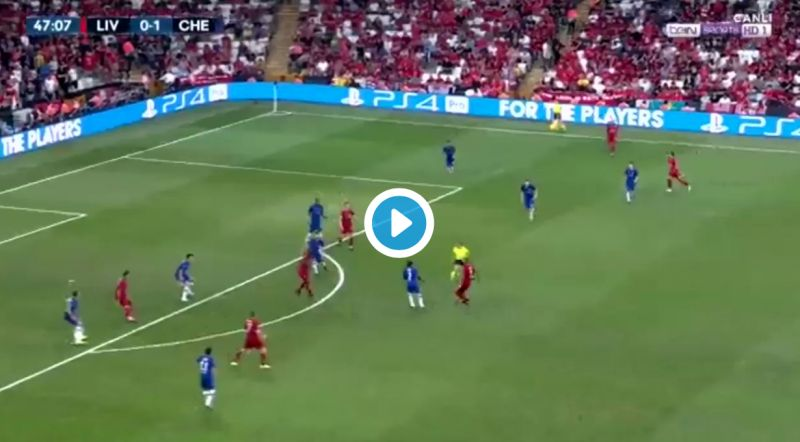(Video) Sadio Mane draws Reds level as Bobby Firmino makes superb instant impact