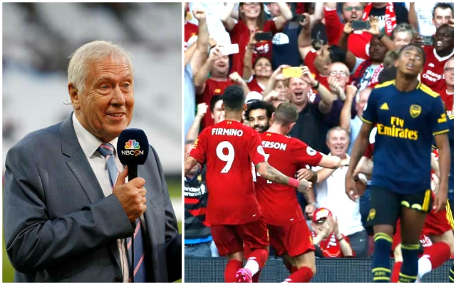 Martin Tyler criticises Anfield since completion of Main Stand