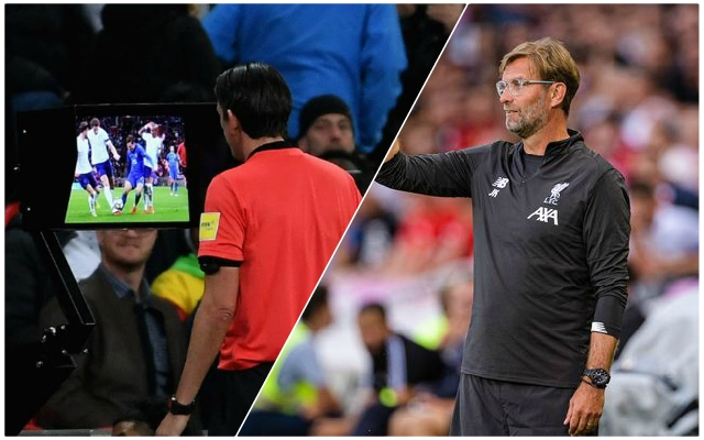 """VAR can be improved"" – Klopp speaks out at coaches' conference"