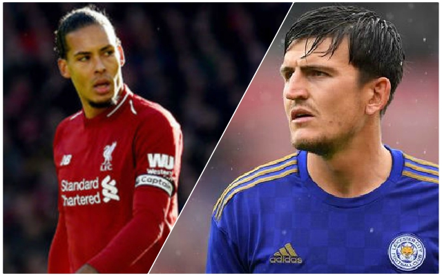 Sky Sports make hilarious Van Dijk-Maguire comparison – using very selective statistics