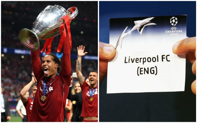 'Not a bad draw for the Champions of Europe!': Reds fans react to Champions League draw