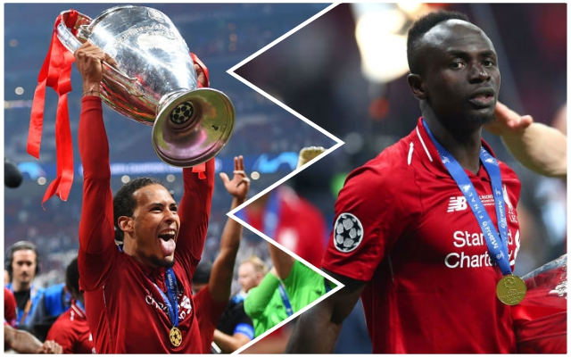 Five Reds stars named on the shortlist for Champions League awards – but Mo Salah misses out