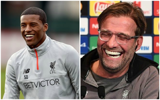 Sky Sports report brilliant news about Wijnaldum and Klopp's crucial meeting