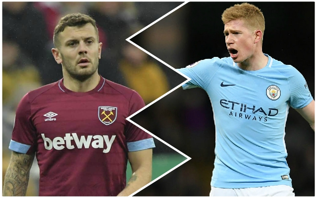 West Ham midfielder outlines the difference between the Reds and Man City – and names his title favourites