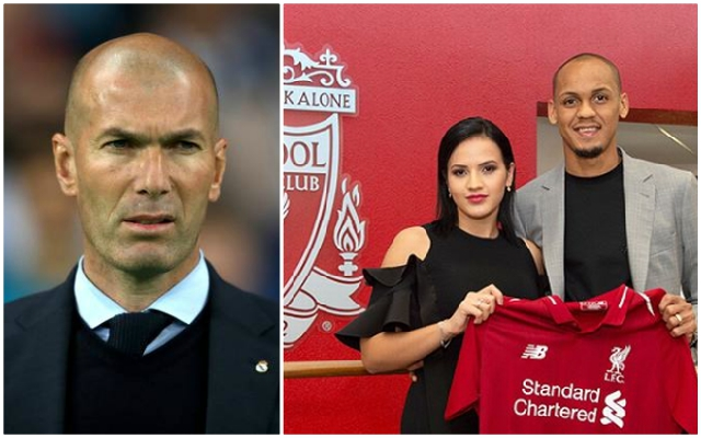 Fabinho's wife takes to Twitter to react to Real Madrid rumours