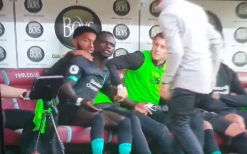 (Video) Mane furious after Salah opts against setting him up for goal-scoring chance