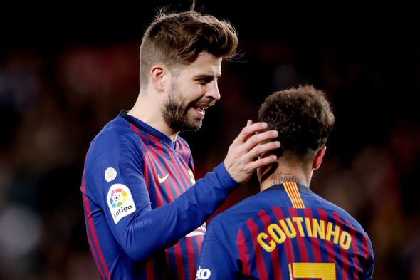 Pique explains thoughts on Coutinho's Barca exit