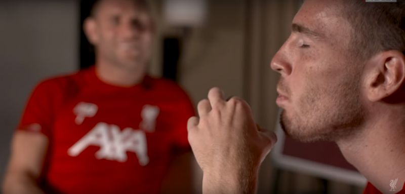 (Video) Liverpool duo have fans in stitches as they discuss their favourite biscuits