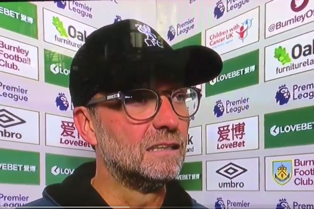 (Video) 'Must be his FPL captain' – Klopp's reaction to own-goal