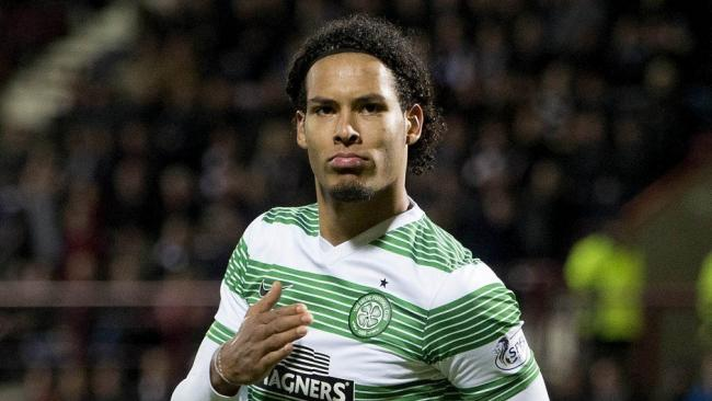 Celtic fan explains initial Van Dijk thoughts from 2013: 'He was just so good' 'Best I'd ever seen'