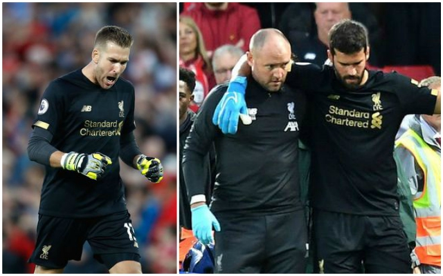 The latest on Alisson's injury comeback as Reds provide update