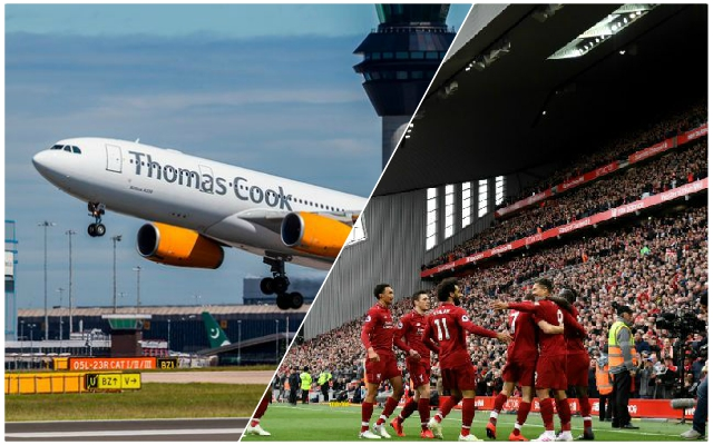 Reds issue official statement as Thomas Cook collapse leaves fans in limbo