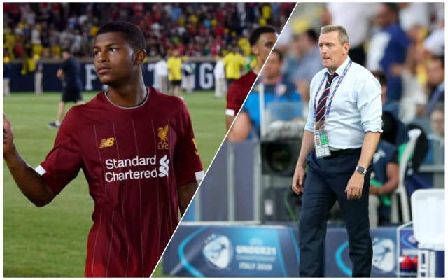 Teenage Reds man's international activity proves just how highly rated he is