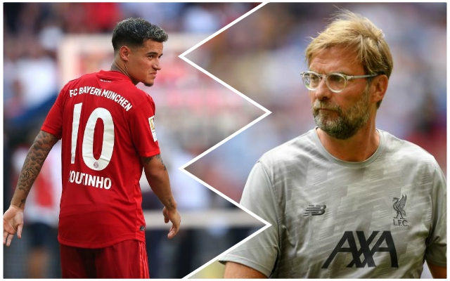 Klopp confirms reason the Reds didn't re-sign Coutinho – and outlines what he told him before Bayern switch