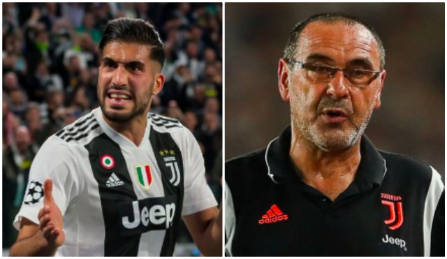 Sarri furious Emre Can still at Juve following Champions League squad dumping