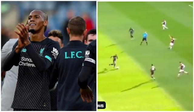 (Video) Relive Fabinho's special 90 minutes v Burnley