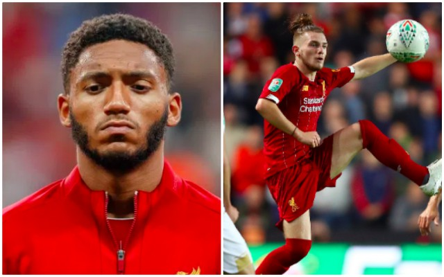 Why 'Special' Harvey Elliott makes Joe Gomez feel 'Weird'