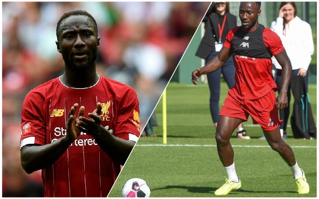 'What a boy!' Lijnders waxes lyrical about Naby Keita's build-up play