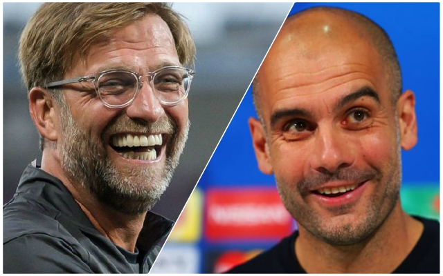 Sarcastic Klopp piles the pressure back on Guardiola