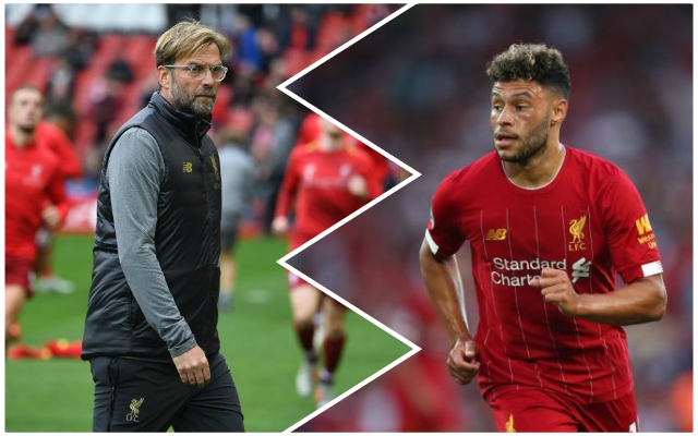 Oxlade-Chamberlain says he feels he's let the Reds down – but now wants to give the side a 'little bit extra'