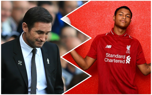 Rhian Brewster hints Reds could make amazing signing with Twitter message to Callum Hudson-Odoi