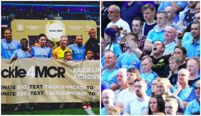 Manchester City fans embarrassed themselves last night & it went viral on Twitter