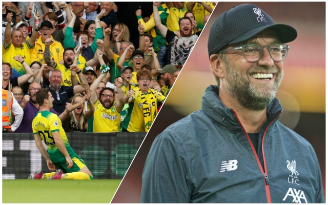 Reds fans reckon Jurgen Klopp played a crucial role in Norwich City's fantastic win over Manchester City