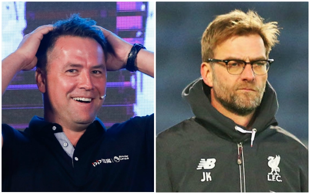 Michael Owen makes ridiculous claim about Manchester United involving the Reds