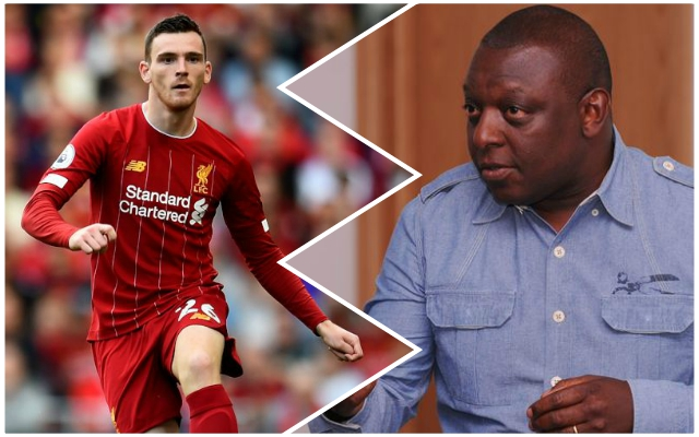 BBC Sport pundit aims bizarre criticism at Reds man Andy Robertson