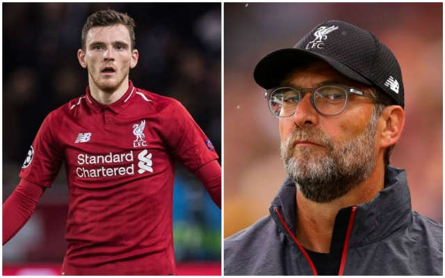 'There's no one like him': Andy Robertson names the one man the Reds would be 'lost' without