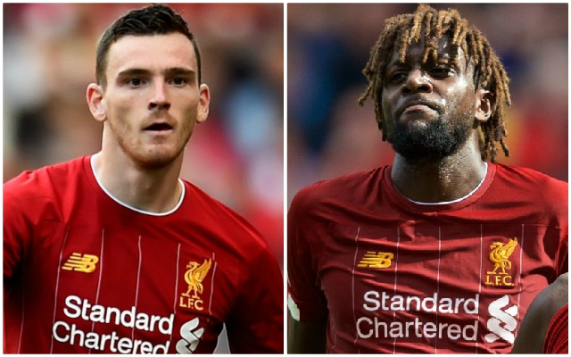 The latest on Andy Robertson and Divock Origi sounds like promising news