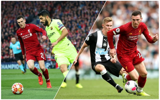 Andy Robertson outlines why the Reds are perfectly set up for huge run of games