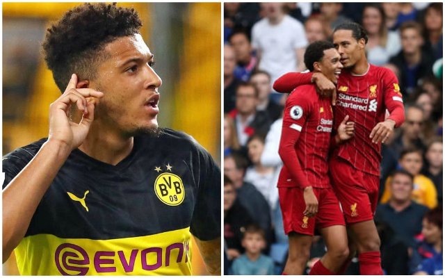 Excited Reds fans notice Jadon Sancho-Trent Alexander-Arnold link during Chelsea win