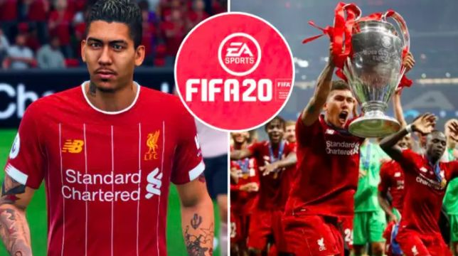 'The Disrespect…' Outraged LFC fans bombard Twitter after Firmino's FIFA 20 rating released